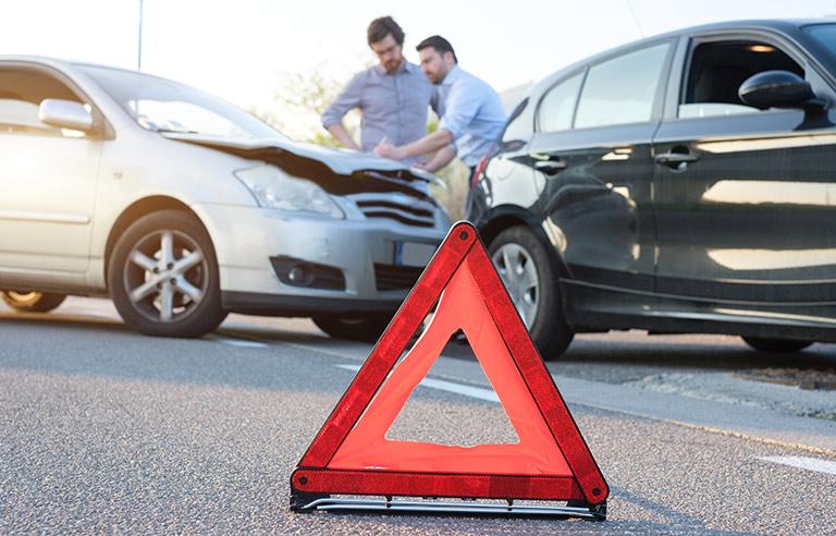 Dokumentierung Unfallhergang